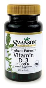 Obrázok pre výrobcu Vitamín D3 5000 IU